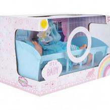 Купить кукла игруша голубая в наборе с аксессуарами 27 см ( id 6478603 )