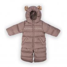 Купить happy baby комбинезон детский с меховыми ушками 89005