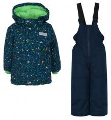 Купить комплект куртка/полукомбинезон salve by gusti, цвет: синий ( id 9820101 )