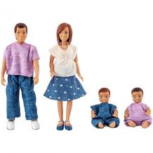 Купить куклы для домика lundby семья с двумя малышами 10361919