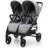 Прогулочная коляска для двойни Valco baby Snap Duo / Cool Grey 7922899