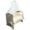 Комплект в кроватку 7 предметов Сонный гномик, Кантри, бежевый ( ID 4922755 )