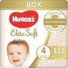 Подгузники Huggies Elite Soft 4, 8-14 кг, 132 шт. ( ID 4861835 )
