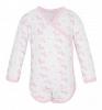 Боди Чудесные одежки Розовые собачки, цвет: белый/розовый ( ID 5779273 )