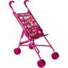 Коляска-трость для кукол MelogoMelobo красно-розовая с бабочками, красный/розовый ( ID 2518778 )
