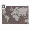 Lorena Canals Ковер Карта мира 140х200 C-MAP
