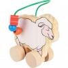 Каталка-лабиринт Мир Деревянных Игрушек Овца, 21 см ( ID 2936681 )