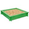 """Деревянная песочница """"Клио"""", зеленая, PAREMO ( ID 6879158 )"""