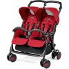Прогулочная коляска для двойни Peg-Perego Aria Shopper Twin, Mod Red 5545243