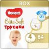 Трусики-подгузники Huggies Elite Soft 4, 9-14 кг, 84 шт. ( ID 7464173 )
