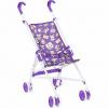 Коляска-трость для кукол MelogoMelobo фиолетовая с мишками, фиолетовый ( ID 361472 )