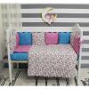 Комплект в кроватку 6 предметов By Twinz, Лаванда ( ID 5045065 )