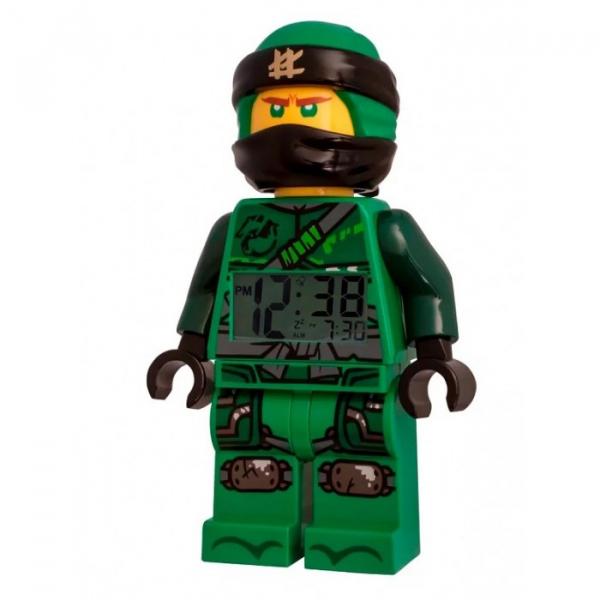 Купить часы lego ninjago movie будильник минифигура lloyd 9009204