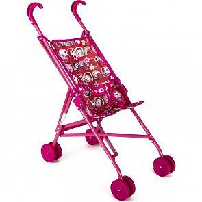 Купить коляска-трость для кукол melogomelobo красно-розовая с бабочками, красный/розовый ( id 2518778 )
