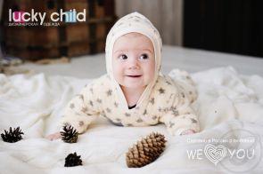 Купить комбинезон lucky child, цвет: бежевый ( id 528877 )