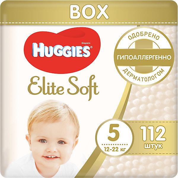 Купить подгузники huggies elite soft 5, 12-22 кг, 112 шт. ( id 4861836 )