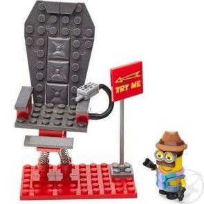 Купить конструктор mega bloks миньоны шаткий стул, 59 дет. ( id 2802779 )