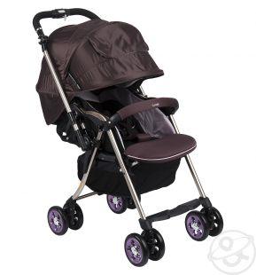 Купить прогулочная коляска combi miracle turn xz-600, цвет: фиолетовый ( id 337203 )