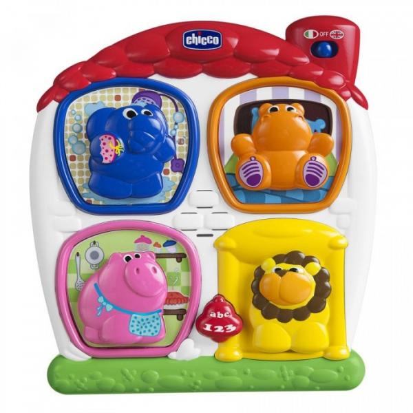 Купить сортер chicco говорящая игрушка домик с животными 00006815000180