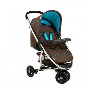 Купить прогулочная коляска hauck miami 3, цвет: coffee/capri ( id 751342 )